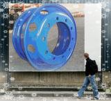 광선 트럭 타이어 (8.25X22.5)를 위한 스테인리스 바퀴 변죽