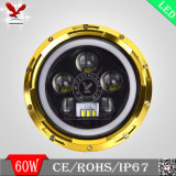 12V60W High Low Beam 7inch LED Jeep Headlight