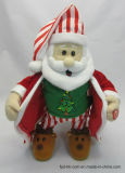 De Opvlammende Gift Santa/Claus van de Beweging van het Stuk speelgoed van de Pluche van de Animatie van Halloween van de Valentijnskaart van Kerstmis