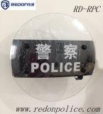 경찰 방패를 위한 투명한 둥근 반대로 난동