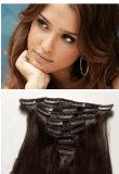 Agrafe sur la prolongation de cheveux