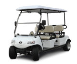 Carro/Buggy levantados elétricos, veículo utilitario com cesta (DEL2042D, 4-Seater)