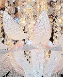 Lâmpadas de vidro do teto