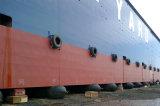 Luchtkussen van het Gebruik van de scheepswerf het Pneumatische Rubber Mariene voor de Lancering van het Schip