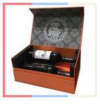 Rectángulo de empaquetado del regalo del vino para el vino, el alcohol, el whisky, el empaquetado del alcohol y el propósito del regalo