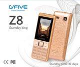 """BRI duelle de FCC de la CE de puce du téléphone fondamental 2.4 de grand de pâte lisse de Gfive Z8 long de téléphone cellulaire de téléphone mobile téléphone en attente de caractéristique """" diplôméee"""