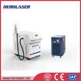 Máquina da limpeza do laser da mancha de petróleo da pintura da oxidação da máquina do tratamento de superfície