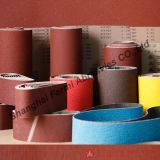 Courroies abrasives enduites de sable pour le métal de meulage, bois (VSM et matière première de 3M)