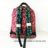 alta signora Cotton Flower Printing Backpack (NMDK-060801) dello stilista