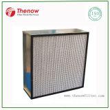 Filtro de aire de HEPA usado en sitio limpio y sistemas de ventilación