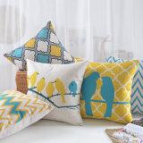 Almohadillas lumbares al aire libre de lino del algodón barato para el asiento