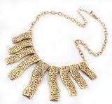 우연한 보석 금 돌을%s 가진 도매 닦는 은 사슬 구슬 목걸이 디자인