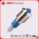 Lâmpada de sinal do diodo emissor de luz de RoHS 8mm do Ce/luz de indicador/lâmpada piloto/luz de sinal