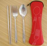 [ستينلسّ ستيل] سفر سكينة محدّد [بورتبل] ثبت سكينة مع كيس حقيبة