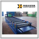 Kxd-850 a ridé le roulis de tuile de toiture formant la machine