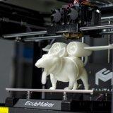 Печатание принтера машины 3D Fdm пластичное с гибким трубопроводом ВАЛЬМ PLA ABS