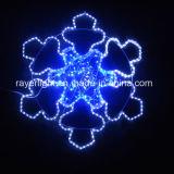 Los copos de nieve LED luces para la decoración de Navidad