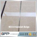 幅木および別荘の大理石の床タイルのための磨かれた安いM214 Galalahのベージュ大理石