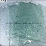 Vidrio claramente modelado coloreado con ISO9001 y En12150 en 3-10m m