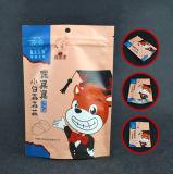 Customzied Fastfood- Reißverschluss-Verschluss-Aluminiumbeutel lamellierte aufrechte Plastiktasche für Nahrungsmittelpaket mit Reißverschluss