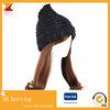 Chapéu de confeção de malhas do inverno do melhor Crochet acrílico feito sob encomenda da venda