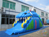 최고 판매 판매를 위한 팽창식 상어 활주 또는 거대한 팽창식 활주