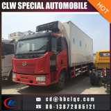 - 18 carrello del gelato di FAW J6 60m3 12ton Freezer Van Truck