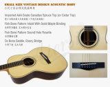 Estilo de Martin do vintage toda a guitarra acústica Handmade de corpo contínuo (MG03SR)