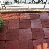 Mattonelle riciclate esterne della piattaforma di pavimento della mobilia del giardino