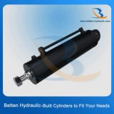 Цилиндр грузоподъемника гидровлический для машинного оборудования конструкции