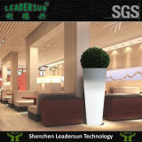 LED, die im Freien Innengarten-Dekorationflowerpot-Pflanzer (LDX-F02, beleuchtet)