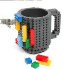 Whosale Form-kreatives keramisches Baustein-Becher-Cup