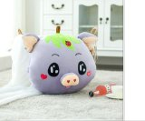 brinquedo morno do luxuoso do porco da mão do inverno de 40*40cm