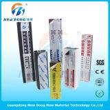 Perfil de alumínio películas protetoras usadas do polietileno plástico