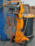 Système manuel de pulvérisation de poudre avec trémies à flush