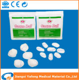 Bola de la gasa del algodón del OEM con la alta absorbencia para el uso médico