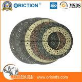Cara de embrague material del No-Asbesto del embrague de fricción