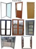 Double porte de tissu pour rideaux d'ouverture de PVC As2047 avec la glace de choc