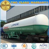 ASME 3 Axles Tanker Trailer 52 Cbm M3 LPG Tanker Trailer