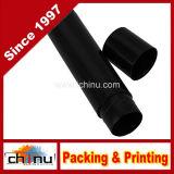 5g 5ml vacian el envase de almacenaje plástico del lustre del labio de los envases de los tubos del bálsamo de labio (el negro)