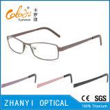 Bunter leichter Voll-Rahmen optische Glas-Rahmen-Titanbrille Eyewear (9114-EW)