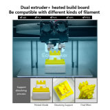 Ecubmaker 플라스틱 부속을%s 가진 최신 판매 3D 인쇄 기계