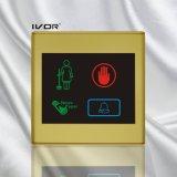Painel ao ar livre do sistema do Doorbell do hotel no frame plástico do esboço (SK-dB2300S3-S)