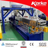 De Dubbele Machine van de Granulator van de Korrel van de Uitdrijving van de Schroef Co-Rotaing Plastic