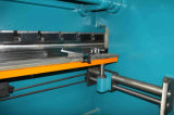 Máquina de dobra de dobramento hidráulica da máquina/metal da placa de aço de carbono Wc67y-400X4000