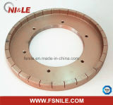 Меля полируя поделенное на сегменты колесо диаманта для керамического