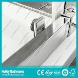 Tela de chuveiro articulada popular da porta com vidro laminado Tempered (SE941C)