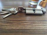 Bloqueo de cilindro de la puerta de la mortaja, latón/cilindro del bloqueo del cinc