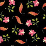 Tela 100% de algodón de la impresión de Digitaces de la flor de la calidad de Hight Zzc-003
