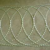 アコーディオン式かみそりワイヤーの平らな覆い